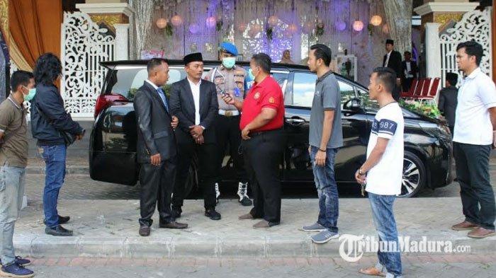 Langkah Persuasif Dilakukan Polisi untuk Bubarkan Resepsi di Bangkalan, Tamu Undangan Tertib