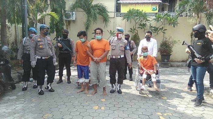3 Pelaku Curanmor Lempar Bondet ke Arah Polisi Mojokerto saat Dikejar, Ditembak hingga Tersungkur