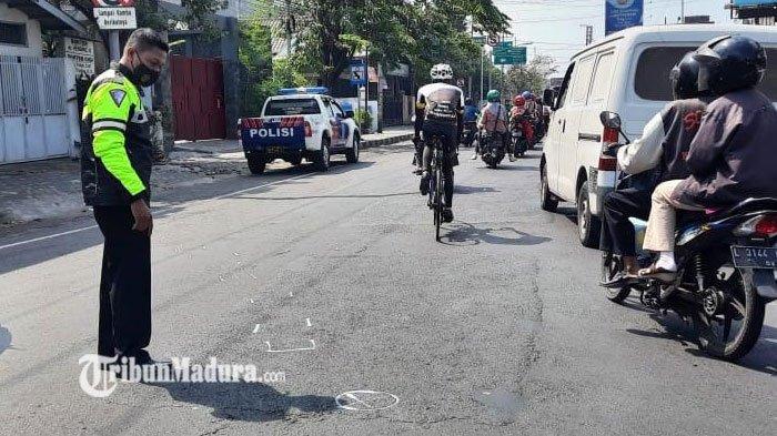 Pria Pengendara Sepeda Tewas Usai Terjatuh Akibat Diserempet Motor, Pengendara Motor Kabur