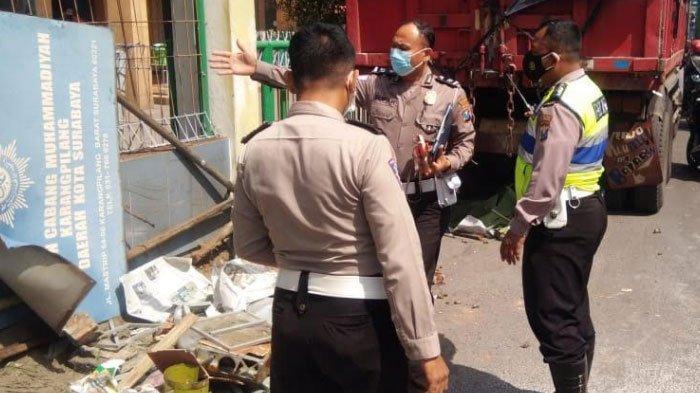 Kecelakaan Maut Tewaskan Penjual Pentol di Surabaya Akibat Terlindas Truk, Bermula Truk yang Oleng