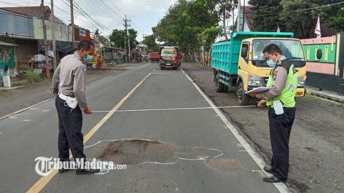 Kecelakaan Maut di Lumajang, Mahasiswi Tergelincir saat Kendarai Motor, Berujung Disambar Truk