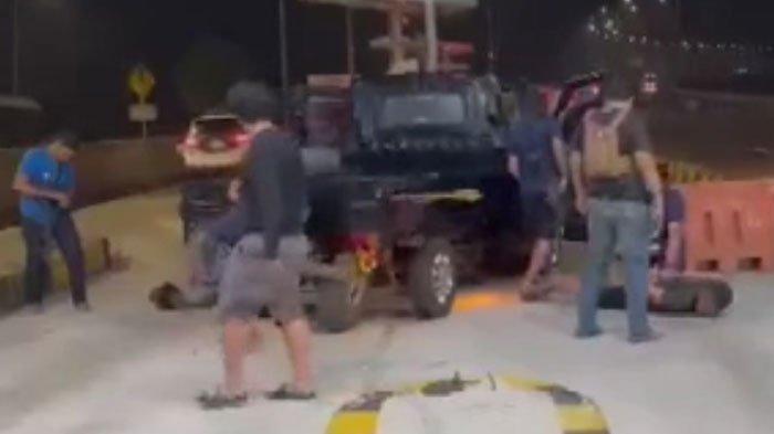 Viral Video Kepolisian yang Menghadang Pelaku Kriminal Pencurian Kendaraan Bermotor, Simak Aksinya