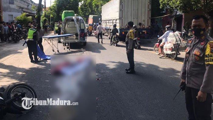 Kronologi Kecelakaan Maut di Tuban, Bermula Perempuan Pengendara Motor Honda Revo Jatuh Selip
