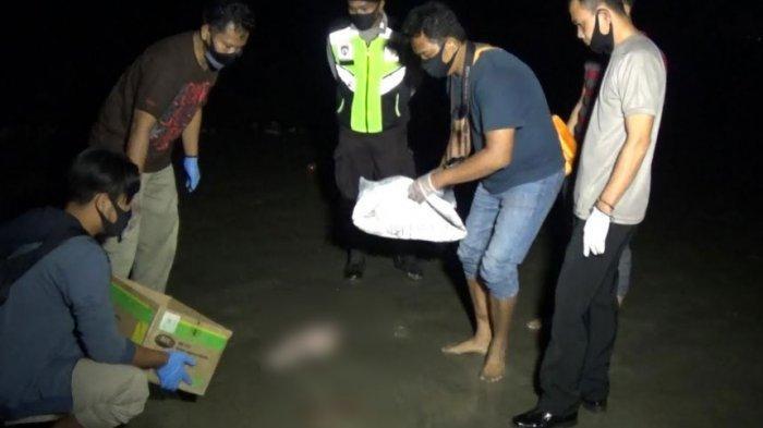 Mayat Bayi Perempuan Tengkurap di Pantai Turut Tuban, Ditemukan Nelayan yang Cari Ikan Bersama Anak