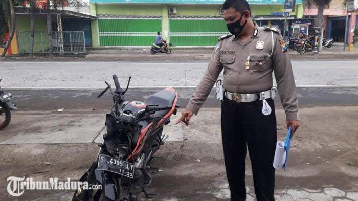 Berusaha Menyalip, Pengendara Motor Tewas Usai Tabrakan Adu Moncong dengan Truk di Kediri