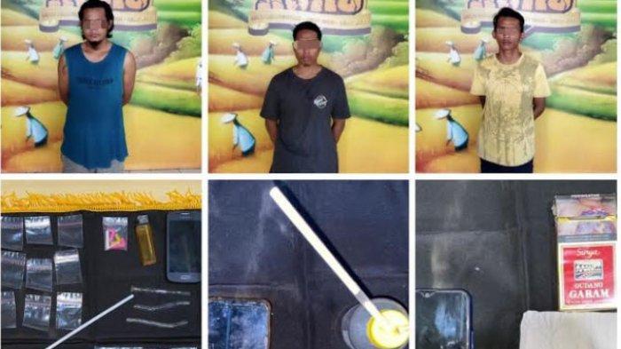 Tiga Pengedar Sabu Paket Hemat di Lumajang Diringkus Polisi, Tersangka Ditangkap di Lokasi Berbeda