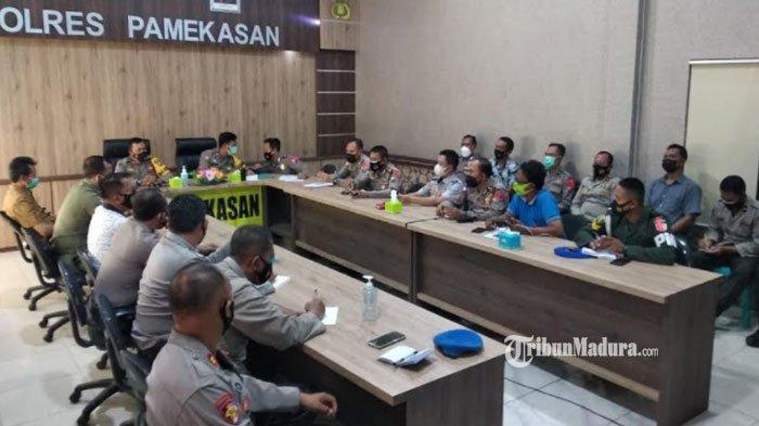 381 Personel Kepolisian Dikerahkan Halau Takbir Keliling di Pamekasan, Pastikan Arek Lancor Steril