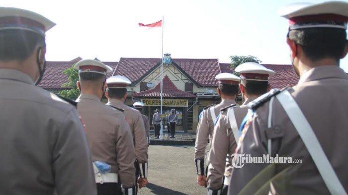 Operasi Patuh Semeru 2021 di Sampang Dimulai Hari ini,Polisi Petakan Lokasi-Lokasi Rawan Kerumunan