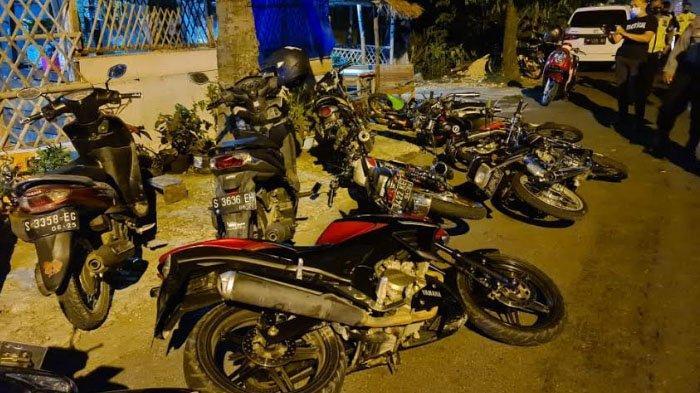 Polisi Bubarkan Aksi Balap Liar di Jalan Soekarno-Hatta Tuban, 44 Remaja dan 29 Kendaraan Diamankan
