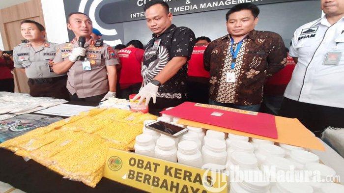 Jutaan Pil Koplo Ditemukan di Kantor Ekspedisi Semut Kali Surabaya, Disebar ke Berbagai Kota Jatim