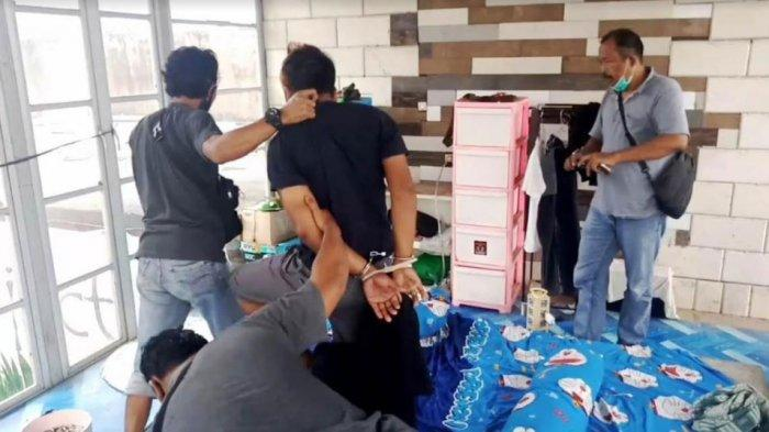 Dua Sopir Terduga Pembobol Kantor Kas Bank Jatim Desa Bendosari Diringkus Polsek Ngantru Tulungagung
