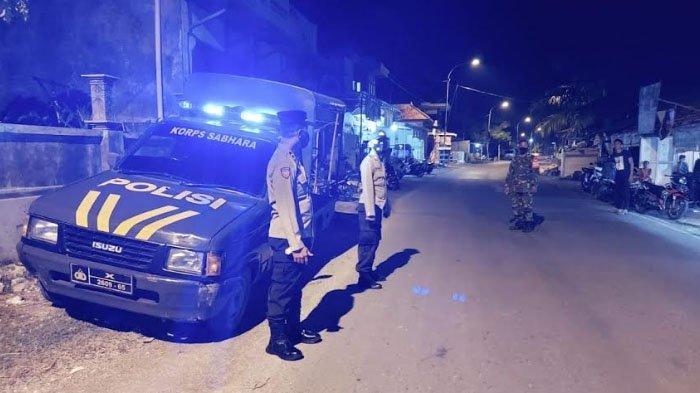 Kapolsek Pangarengan Tegur Pemilik dan Pengunjung Biliar Tak Pakai Masker di Dusun Lembenah Sampang