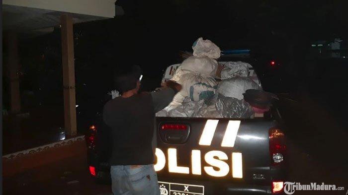13 Karung Plastik Berisikan Bahan Peledak di Bangkalan Disita Polisi, Rencananya Akan Dibuat Mercon