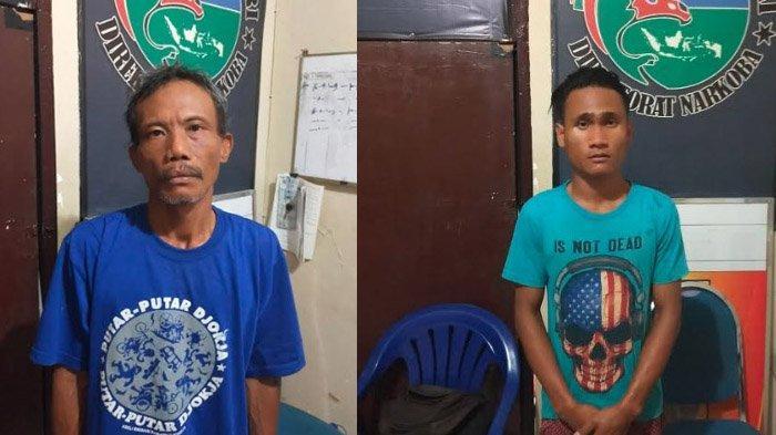 Niatnya Pesta Sabu, Dua Pemuda Digerebek Polisi Saat Siapkan Alat Isap, Berdalih Tambah Stamina