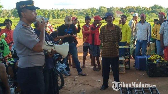 Nekat Gelar Lomba Burung Merpati di Tengah Wabah Virus Corona, Warga Pamekasan Dibubarkan Polisi