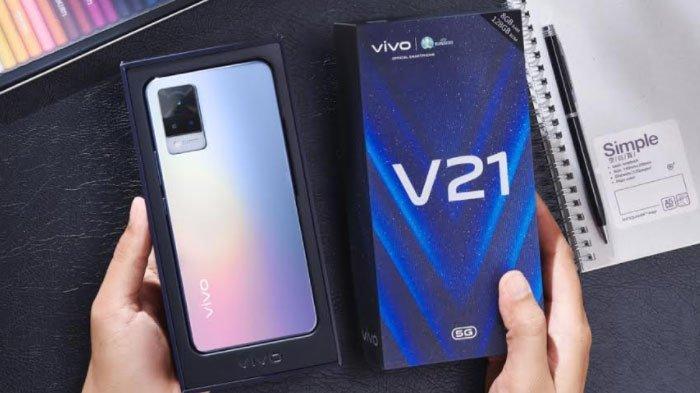 Didukung Teknologi 5G, Vivo V21 5G Dapat Unduh Film 800MB Cukup 10 Detik Aja, Ini Keunggulan Lainnya