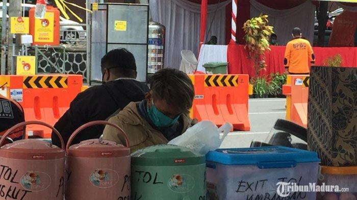 Hari Kedua PSBB Surabaya, Petugas TemukanSatu ODP asal Jember Nekat Melintas saat Masa Karantina