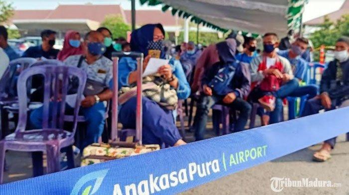 Keluar Masuk Jawa via Bandara Juanda Wajib Serahkan Hasil Rapid Test Antigen, Bali Swab Tes PCR