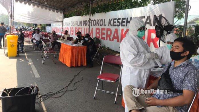 Penyekatan di Suramadu sisi Surabaya Ricuh, Polisi Minta Masyarakat Kooperatif Ikuti Prosedur Tes