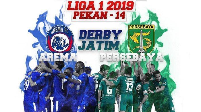Tendangan Geledek Dendi Santoso Bawa Arema FC Unggul 1-0 atas Persebaya di Stadion Kanjuruhan Malang