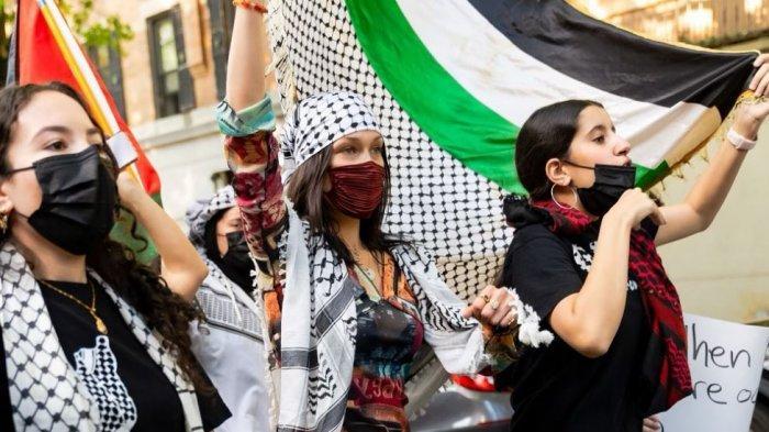 Profil dan Biodata Bella Hadid, Super Model yang Jadi Sorotan Dunia, Turun ke Jalan Bela Palestina