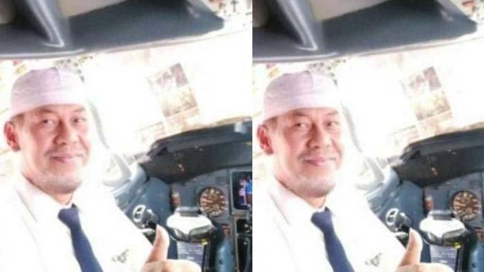 Potret Captain Afwan, Pilot Sriwijaya Air SJ 182 semasa hidup.