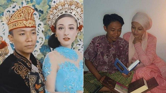 Kisah Bule Prancis Dinikahi Pria Asal Lombok, Sebuah Cerek Hingga Sebuah Cobek Jadi Mas Kawin