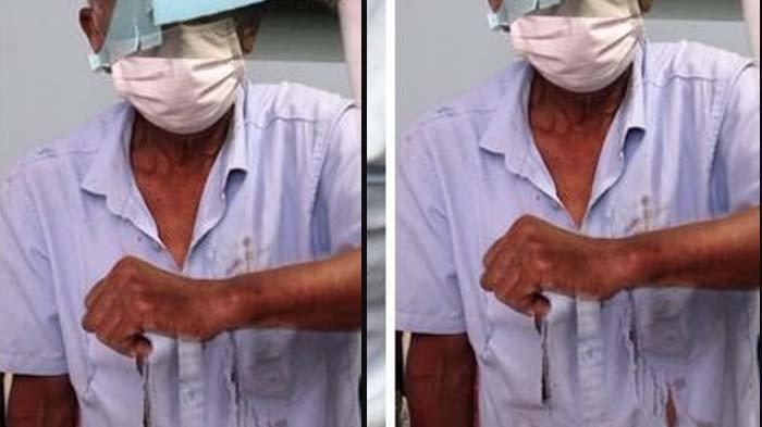 MIRIS Kakek Disiram-Dicakar karena Bersin Tanpa Masker di Depan Kios, Anak Sakit Hati: Dia Orang Tua