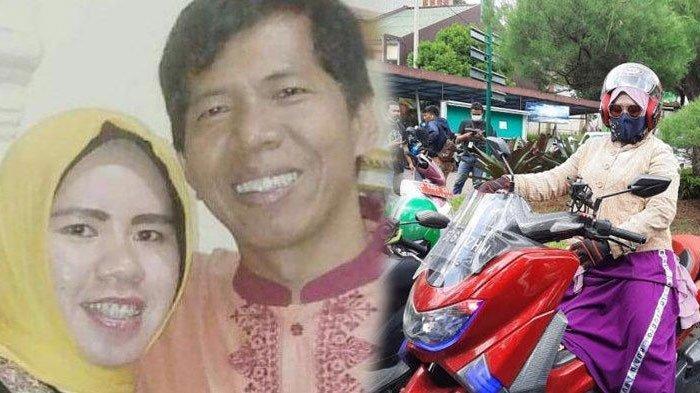 'Calon Janda' Rohimah Datang Sendiri Pakai Motor Hadiri Sidang Perceraiannya dengan Kiwil