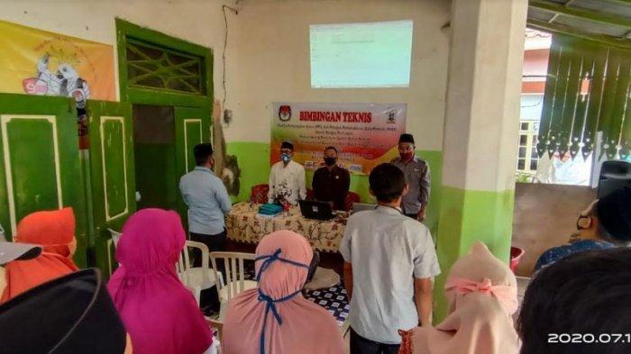 Pilkada Sumenep 2020, PPDP Kecamatan Talango Mengikuti Bimtek Persiapan Pencocokan dan Penelitian