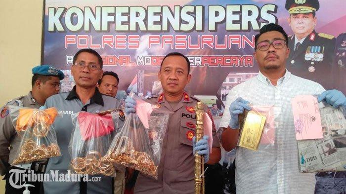 BREAKING NEWS - Polisi Bongkar Praktik Penipuan Berkedok Penggandaan Uang di Kabupaten Pasuruan