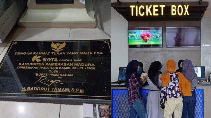 Prasasti Peresmian Bioskop Kota Cinema Mall Tuai Kontroversi, Catut Tanda Tangan Bupati Pamekasan