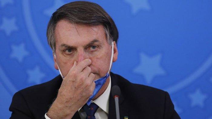 Presiden Brasil Positif Terinfeksi Covid-19, Mengaku Sudah Lebih Baik, Tapi ada Ungkapan Penyesalan