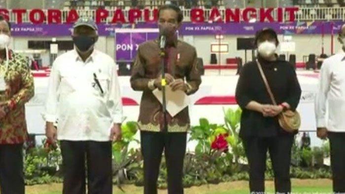 Presiden Jokowi Resmi Membuka PON XX Papua 2021, Ungkap Kebanggaan Sekaligus Harapan di Tanah Papua