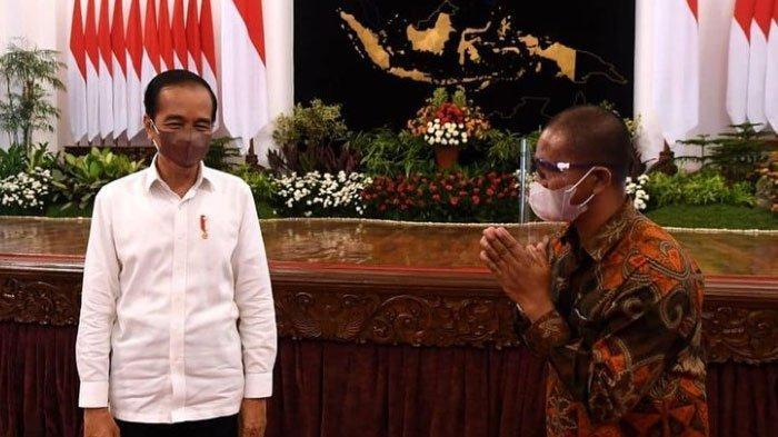 Peternak asal Blitar yang Bentangkan Poster Diundang Jokowi ke Istana, Sampaikan Keluhan ke Presiden
