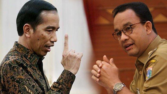 Penolakan 'Otomatis' Jokowi Soal Permintaan Gubernur DKI Jakarta Anies Baswedan Terkait Karantina