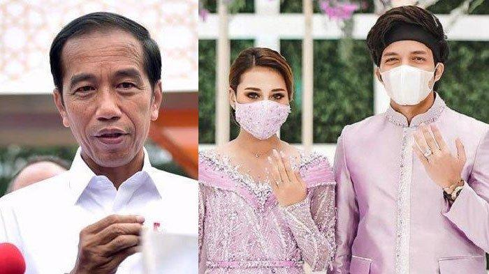 Ini Kata Istana soal Kabar Presiden Jokowi Jadi Saksi Pernikahan Atta Halilintar - Aurel Hermansyah