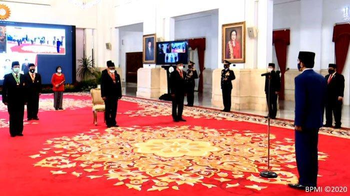 Daftar Penerima Anugerah Kehormatan dari Presiden Jokowi, Dokter dan Perawat Juga Menerima