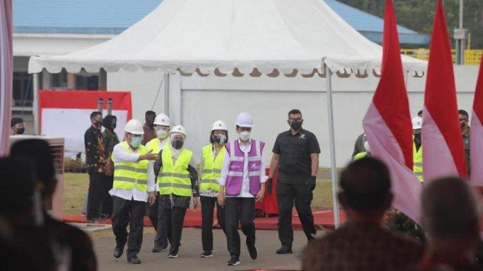 Presiden Jokowi Resmikan Sistem Penyediaan Air Minum Regional Umbulan di Kabupaten Pasuruan