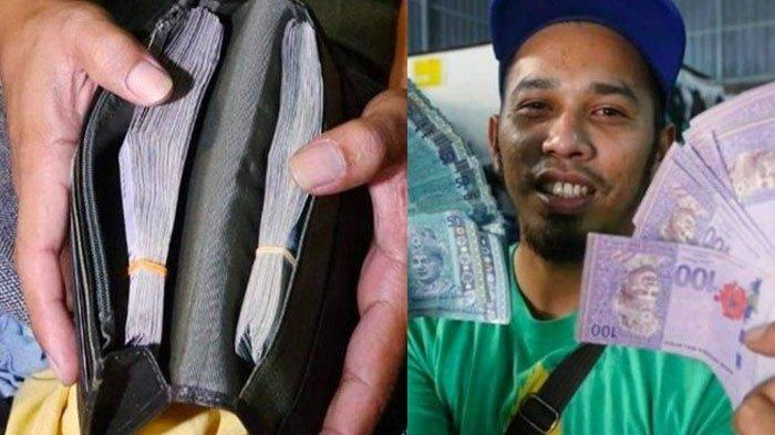 Mujur, Beli Pakaian Bekas di Pasar Loak, Pria ini Tak Menyangka Temukan Uang Rp 71 Juta di Saku Jas