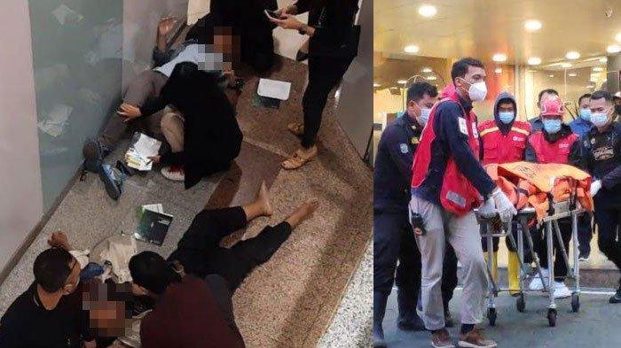 Ditegur Sekuriti hingga Tubuh Timpa Pengunjung, Simak Fakta-Fakta Pria Bunuh Diri di Tunjungan Plaza