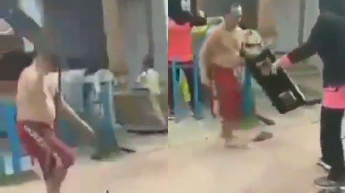 VIDEO Viral Pria Ngamuk Banting Peralatan Dapur Tak Temukan Makanan, Istri Diduga Lakukan Hal ini