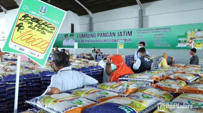 Puluhan KaryawanLumbung Pangan Jatim Positif Virus Corona,Pemkot Surabaya Siap Bantu Tracing