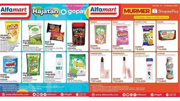 Katalog Promo Alfamart 1 15 Oktober 2020 Diskon Belanja Minyak Goreng Mi Instan Hingga Deterjen Tribun Madura