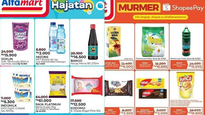 Promo Katalog Alfamart 11 Agustus 2020 Promo Menarik Pakai Gopay Dan Shopeepay Makin Hemat Belanja Tribun Madura
