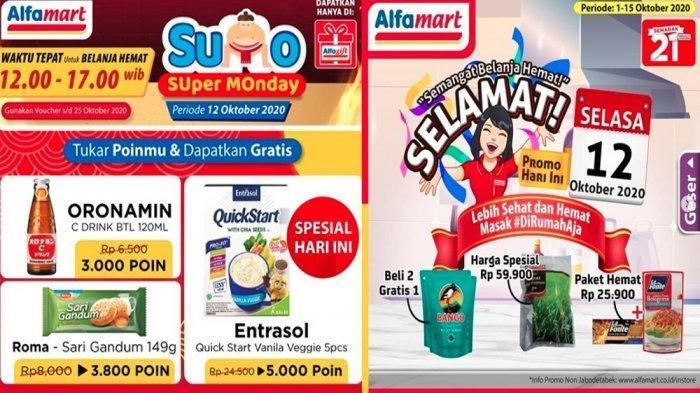 Promo Alfamart13 Oktober 2020, Belanja Deterjen, Minyak Goreng hingga Produk Susu, Ada Diskon Harga