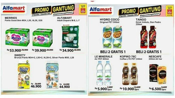 Promo JSM Alfamart sampai 3 Desember 2020, Diskon Harga Minyak Goreng hingga Promo Beli 2 Gratis 1