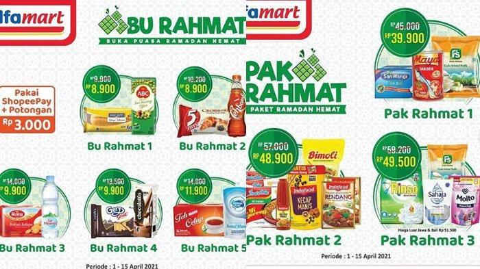 Katalog Promo Alfamart, ada Pak Rahmat Berisi Minyak, Mie Instan dan Sebagainya Harga Lebih Hemat