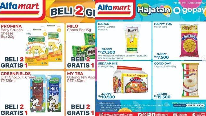 Katalog Promo Alfamart 14 Desember 2020, Promo Menarik GoPay, ShopeePay Hingga Minyak Goreng Murah