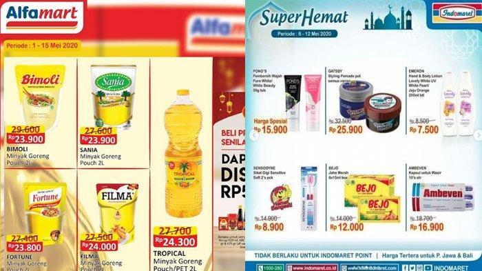 Daftar Promo Alfamart dan Indomaret 12 Mei 2020, Beli 2 Gratis 1, Minyak Murah Hingga Paket Ramadan